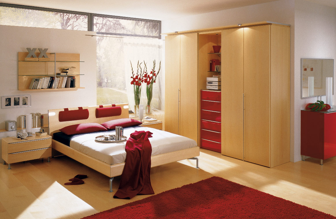Bedroom Designs For Small Rooms Private Space for Women
