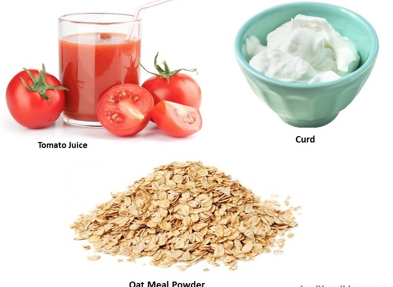 tomato-jcurd-and-oat-meal