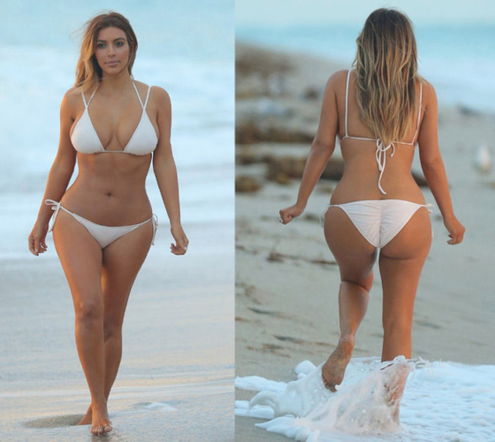 Kim Kardashian big booty2