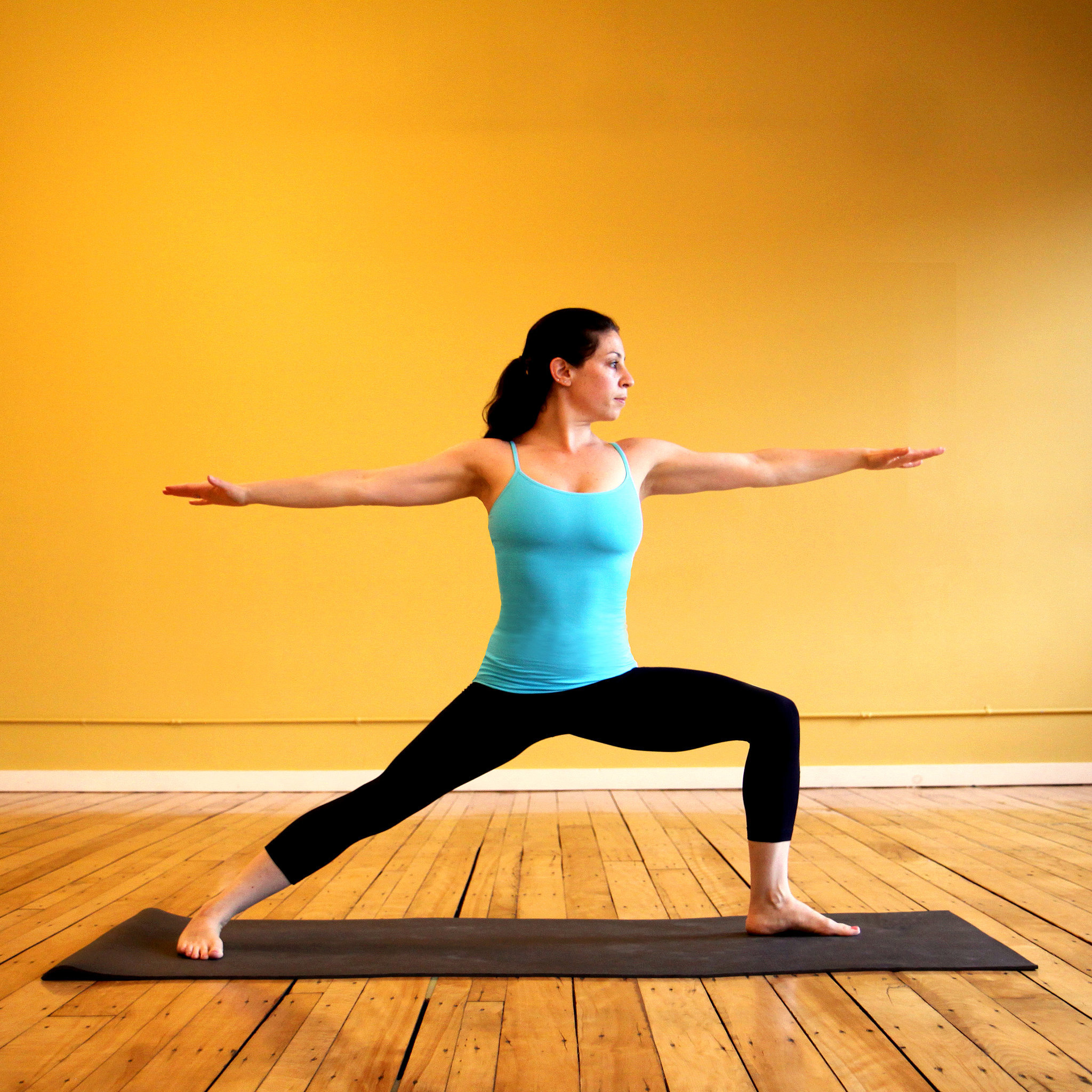 Yoga For Weight Loss | Private Space for Women  Warrior 2 Pose