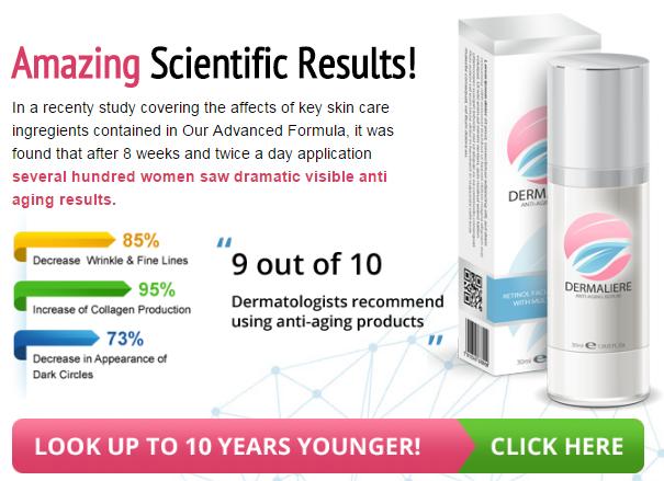 Dermaliere Serum results