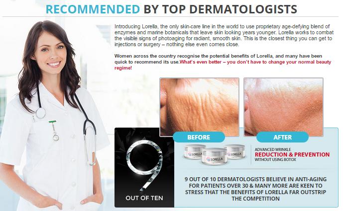 Lorella Anti Aging Cream doctors recommended