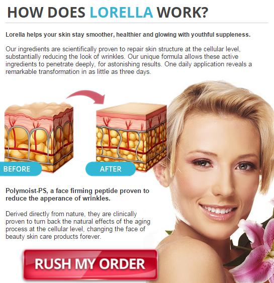 Lorella Anti Aging Cream working