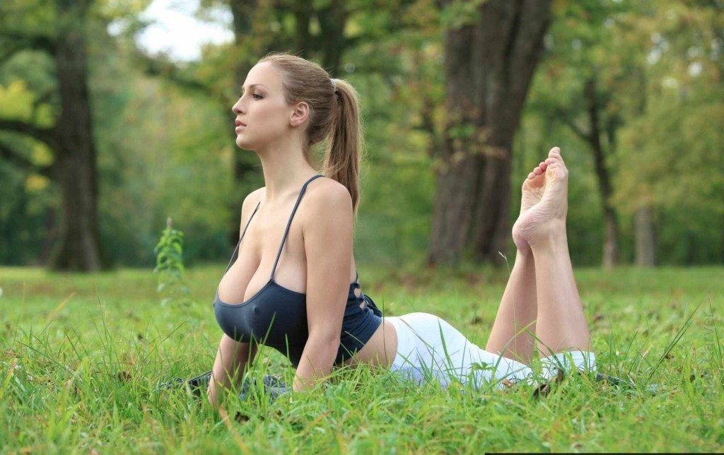 yoga for breast increase