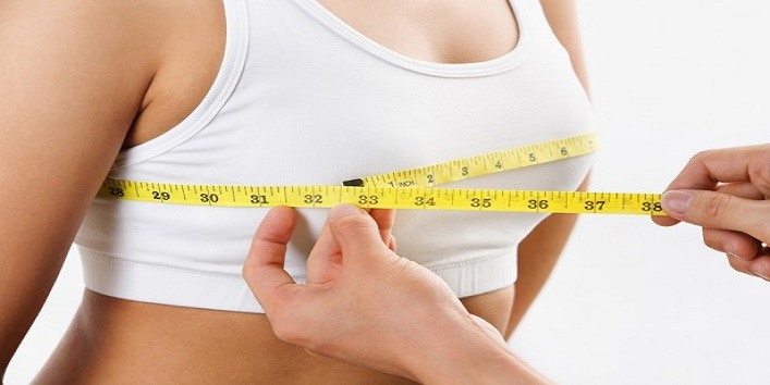 measuring bra