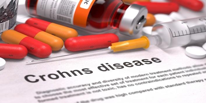 Crohns Disease - Medical Concept.